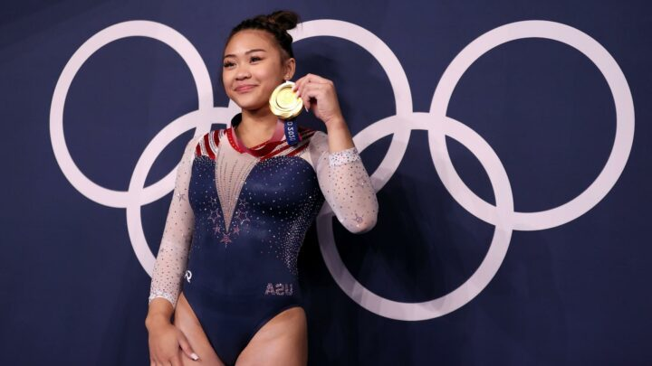 Suni Lee takes her place along Team USA's all-time greats with Olympics all-around gold medal