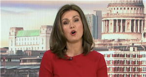 Susanna Reid forced to explain croaky throat on GMB after late night at Wembley