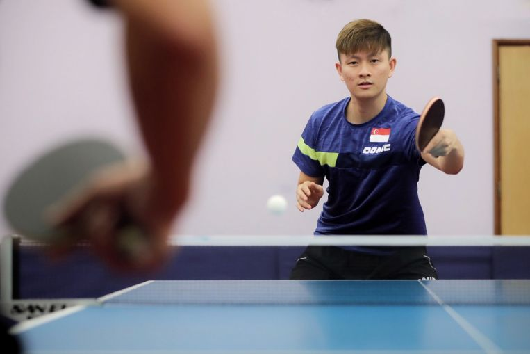 Table tennis: Eight years after starting poly, Clarence Chew has yet to graduate but he's going to Tokyo Olympics