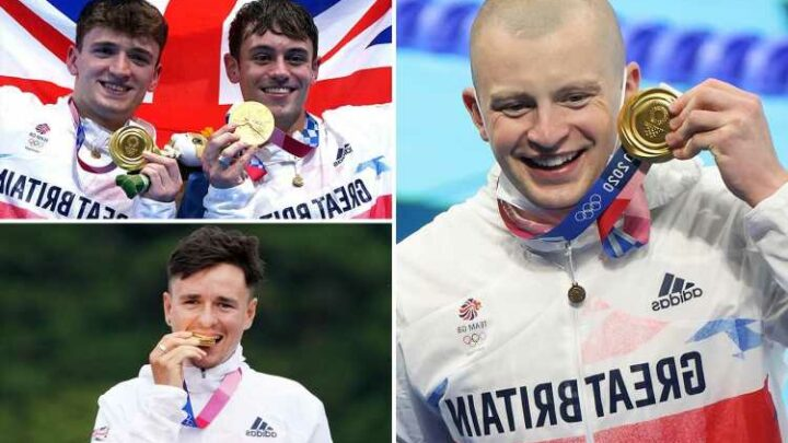Team GB begin Tokyo gold rush as Peaty, diving pair Daley and Lee and Pidcock all crowned champions on magic Monday