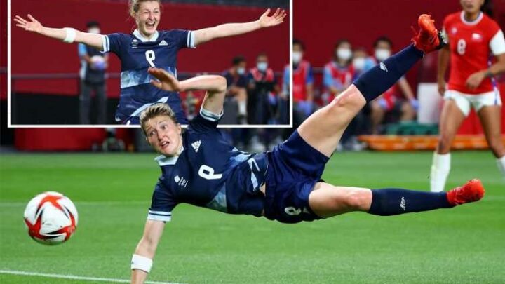 Team GB women's football team beat Chile 2-0 in perfect start to Tokyo 2020 after Ellen White scores brilliant double