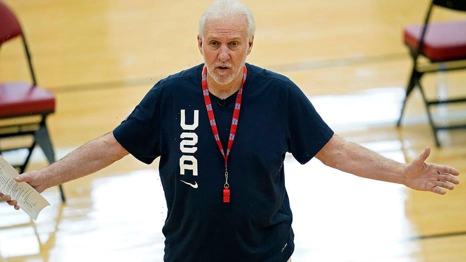Team USA's Gregg Popovich gets into testy exchange with reporter after latest Olympic tune-up loss