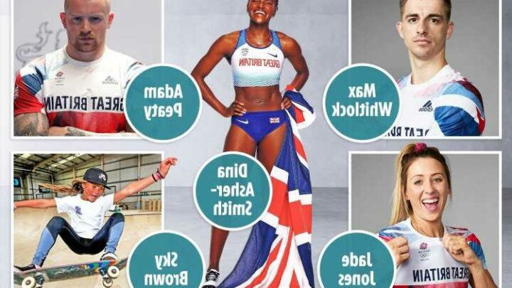 The eight great British athletes to look out for at the Tokyo Olympics