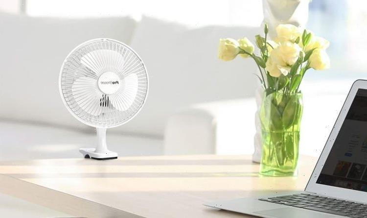 The fan that's 'lightweight, quiet and does its job' is on sale for under £15