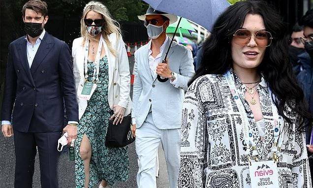 The stars descend on Wimbledon day eight