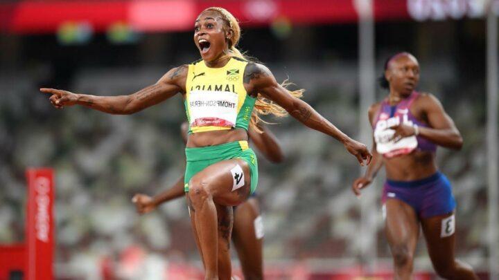 Thompson-Herah breaks FloJo's 100m record
