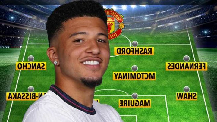 Three ways Man Utd may line up after Jadon Sancho transfer deal including gung-ho set-up with two attacking midfielders