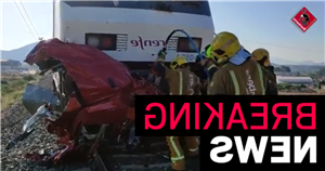 Three women and child killed after car hit by high speed train near Alicante