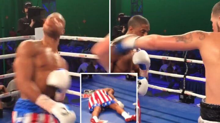 Tony Bellew KO'd actor Michael B Jordan while filming CREED movie, but Hollywood star says he wasn't out cold