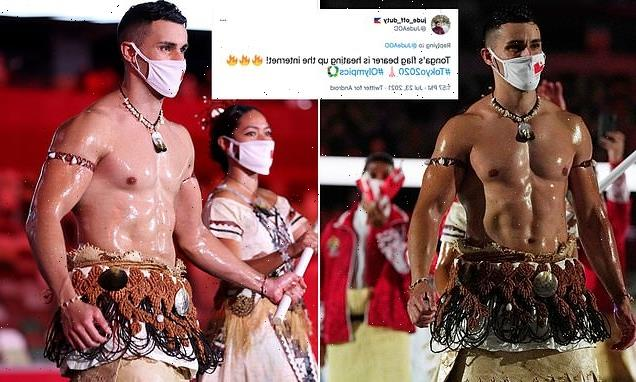 'Topless Tongan' Taufatofua goes viral again in Tokyo