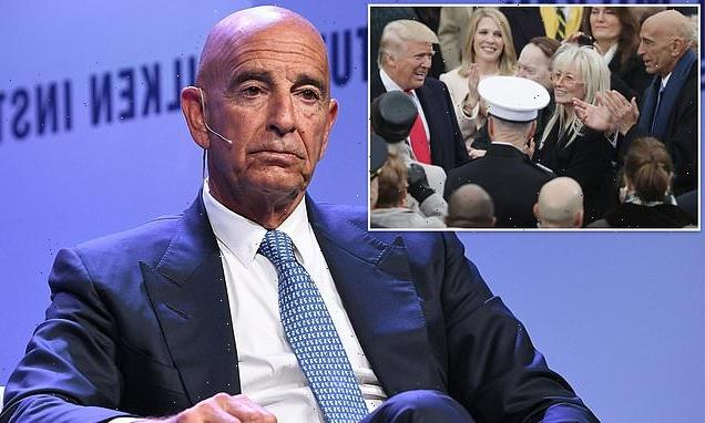 Trump's friend Tom Barrack ARRESTED for 'acting as an agent for UAE'