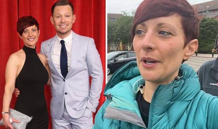 'Trying not to cry' Adam Rickitt's GMB star wife Katy bids emotional farewell on ITV show