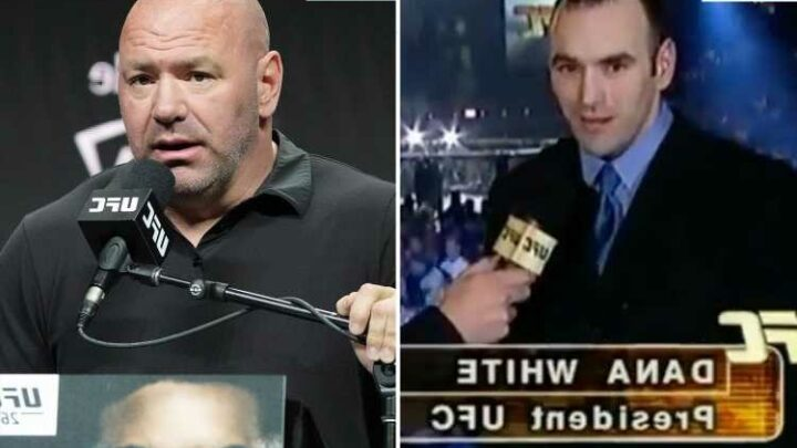 UFC fans left in shock from Dana White throwback birthday picture as he looks unrecognisable with hair