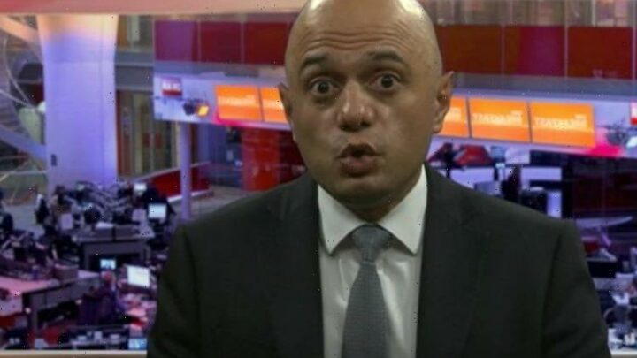 'We need normal world!' Javid shuts down Louise Minchin as BBC host challenges mask plan