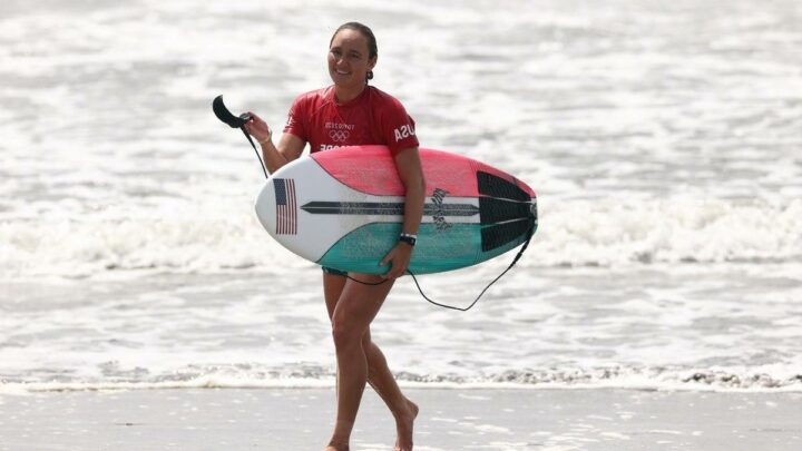 Who is Carissa Moore? The US surfer who is aiming for Olympic gold