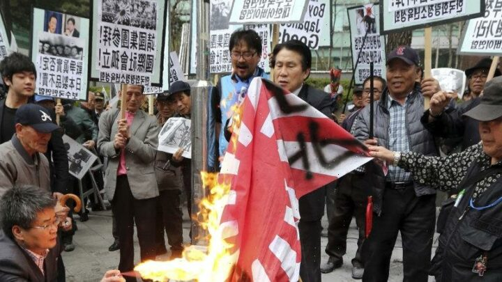 Why Japan's neighbours want the 'rising sun' flag banned at the Olympics