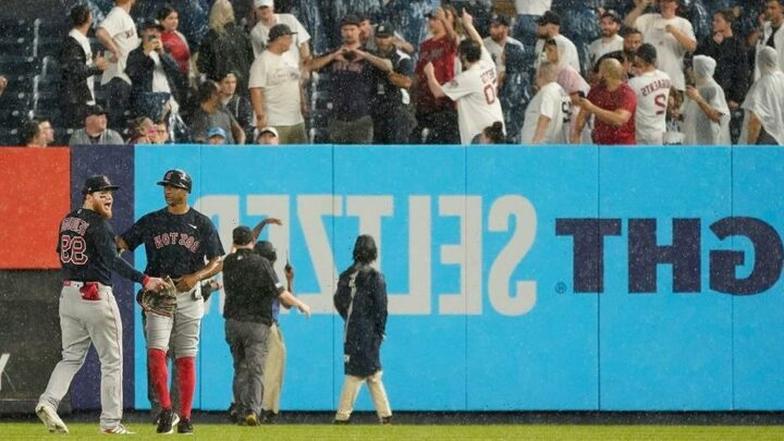 Yankees' Aaron Boone hopes fan in Alex Verdugo incident is in jail