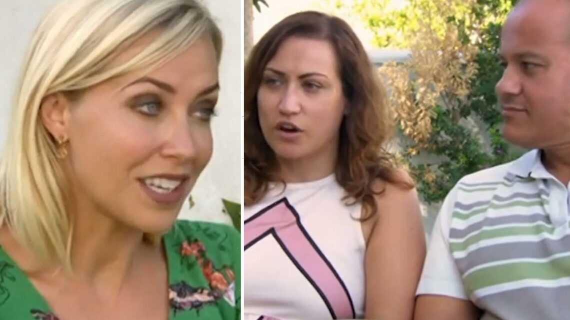 A Place in the Sun's Laura Hamilton can't hide her fury as couple brutally snub her 'perfect' villa