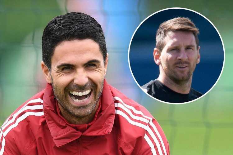 Arsenal boss Mikel Arteta calls Lionel Messi's PSG transfer a 'dream' and gives his verdict on Cristiano Ronaldo debate