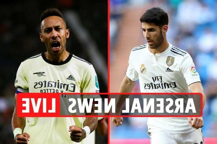 Arsenal transfer news LIVE: Aubameyang future LATEST, Marco Asensio linked, Nketiah to Palace, Maitland-Niles loan