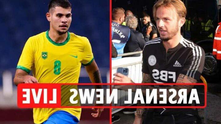 Arsenal transfer news LIVE: Maddison £60m plus player offer, Bruno Guimaraes £25.6m bid, Lautaro Martinez offer rejected
