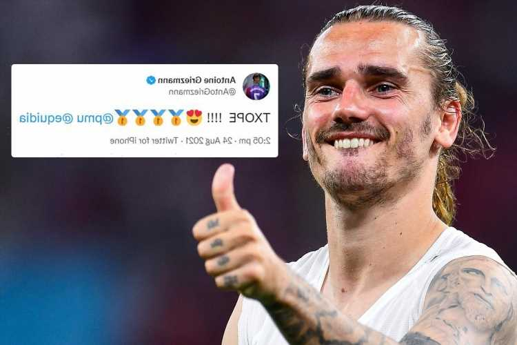 Barcelona star Antoine Griezmann scores with exciting winner in France he bought for £265,000