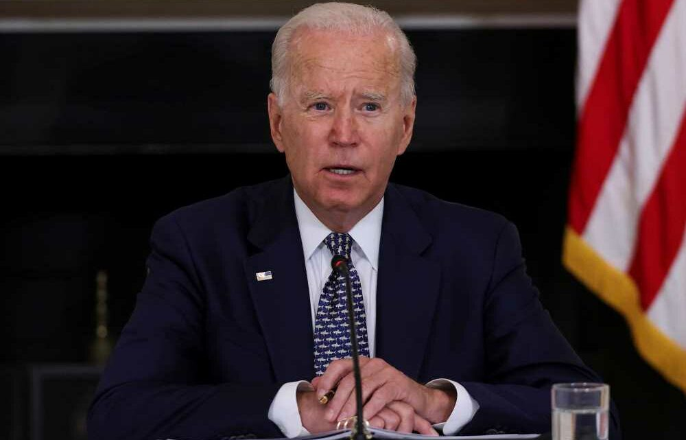 Biden 'checking' if he can overrule states and order universal masks in schools