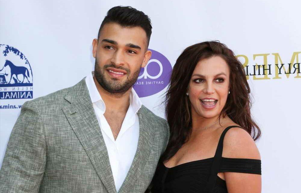 Britney Spears lovingly calls boyfriend Sam Asghari a 'cute a–hole' on IG