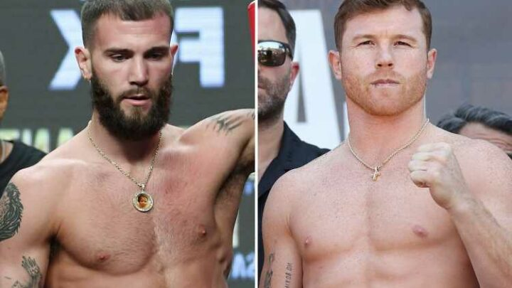 Canelo Alvarez AGREES deal to fight Caleb Plant in November unification blockbuster