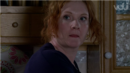 Coronation Street shock as Fiz does a runner with Hope and admits she's turning into serial killer dad John Stape