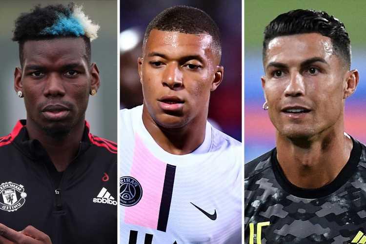 Cristiano Ronaldo, Mbappe, Pogba, Pedri and Camavinga – the incredible stars available on FREE transfers next summer