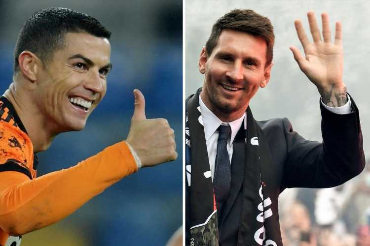 Cristiano Ronaldo 'laughs off chance to reignite Lionel Messi rivalry in France as he breaks silence on PSG transfer'