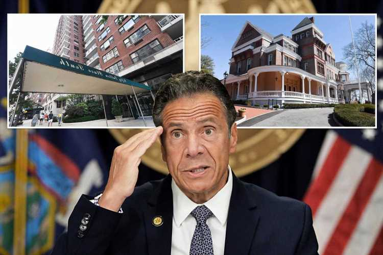 Cuomo would have to find a place to live if he resigns or is ousted from office