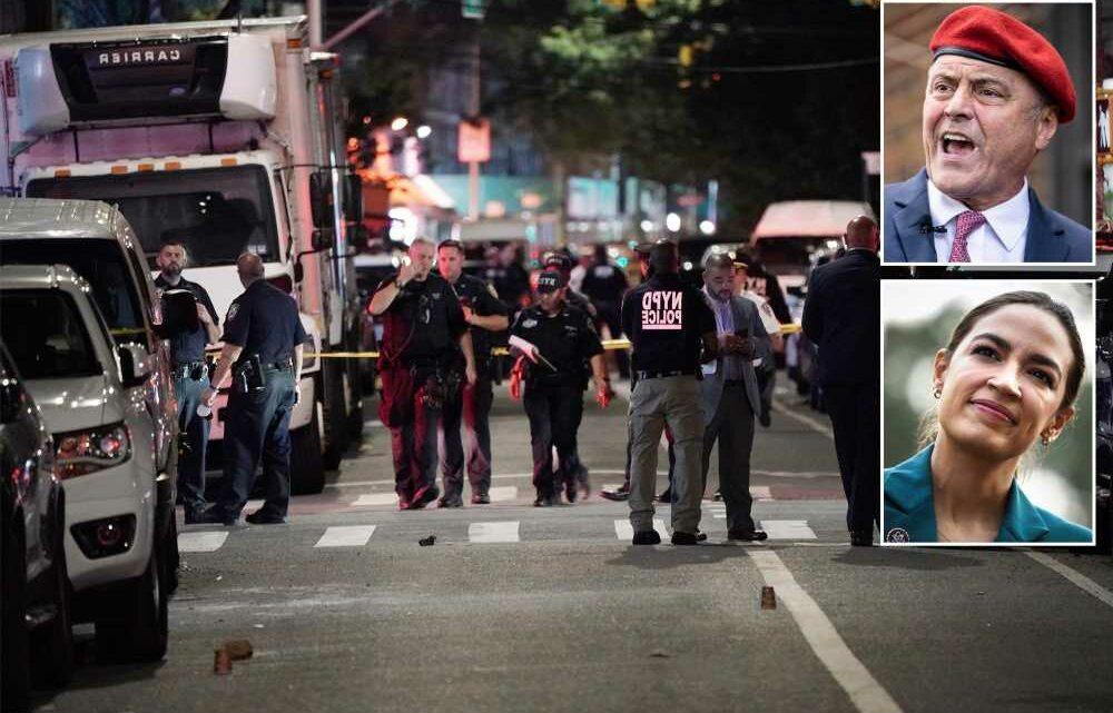 Curtis Sliwa invites AOC to match $20K reward in NYC mass shooting