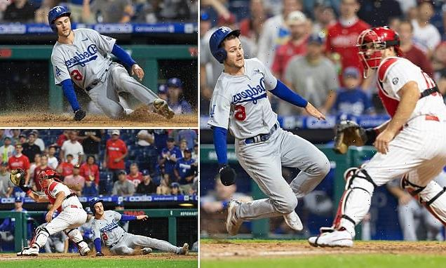 Dodgers' Trea Turner flawlessly executes 'the smoothest slide'