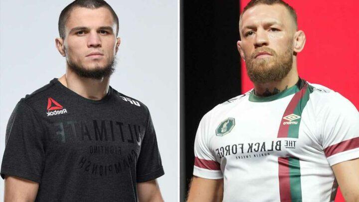 Enemies Conor McGregor and Khabib Nurmagomedov nearly cross paths in West Hollywood