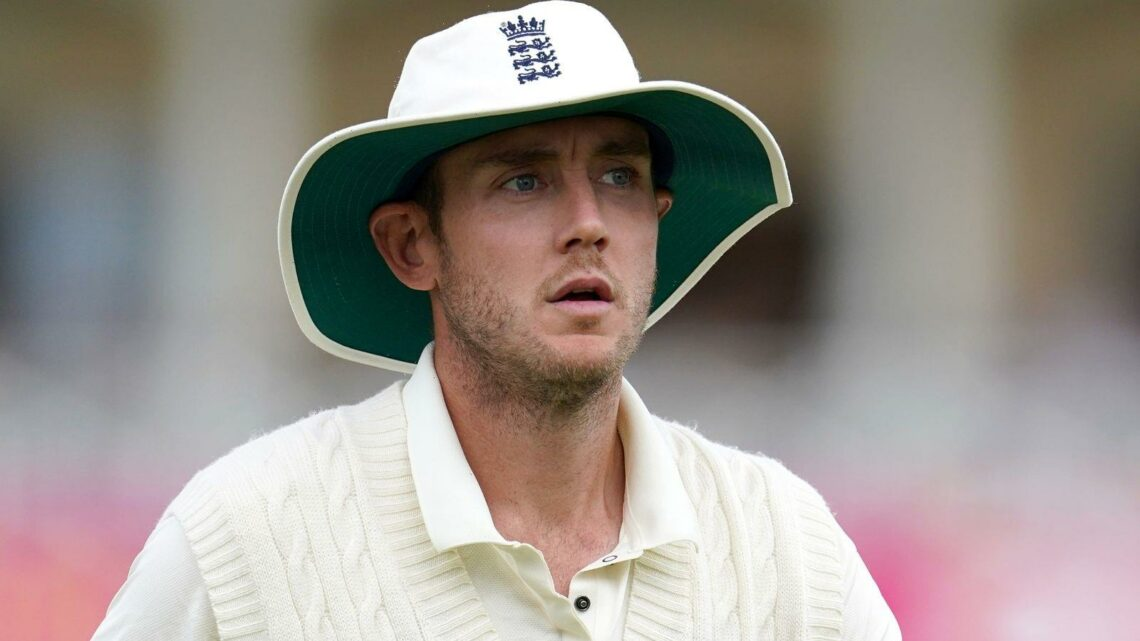England's Stuart Broad ruled out of remainder of Test series against India with calf injury