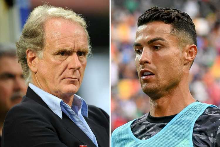 Ex-Juventus president Gigli rages 'the sooner Cristiano Ronaldo leaves the better' amid transfer exit rumours