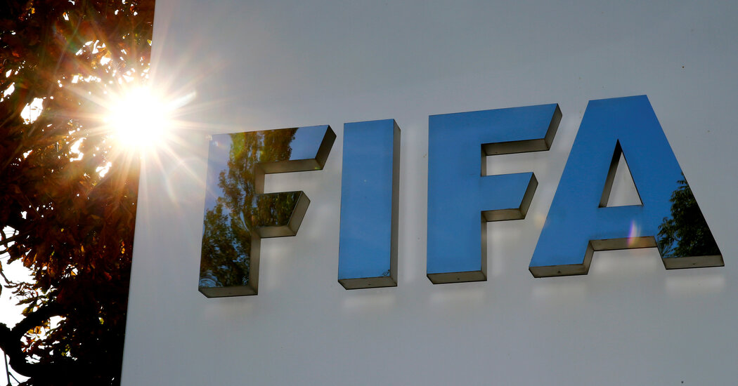 FIFA Will Share in $200 Million Payout From Justice Department