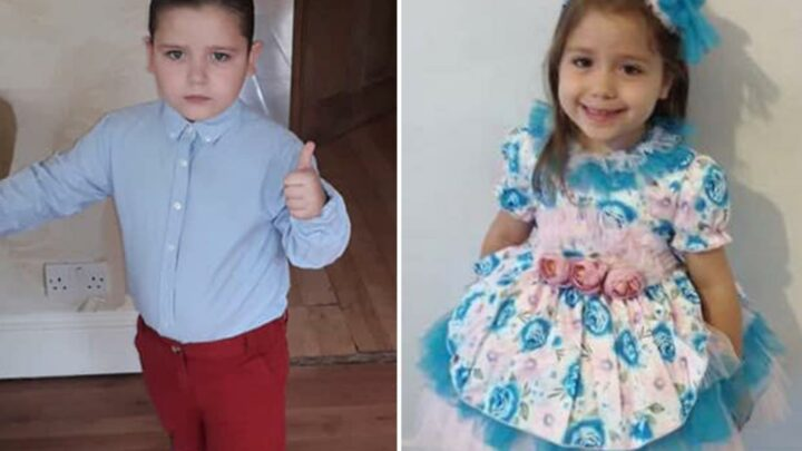 Family's heartbreaking tributes to siblings, aged 4 and 10, killed in M1 'drink-drive' horror crash