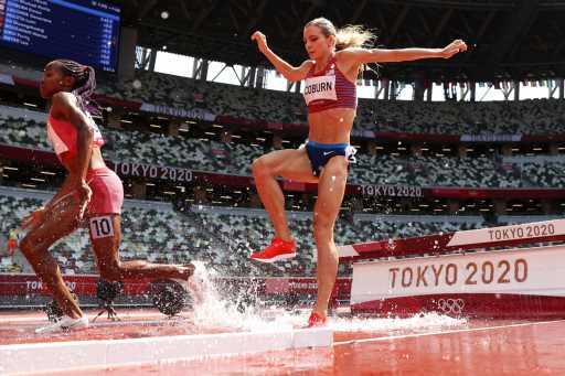 Former CU Buffs Emma Coburn, Valerie Constien advance in Olympic steeplechase – The Denver Post