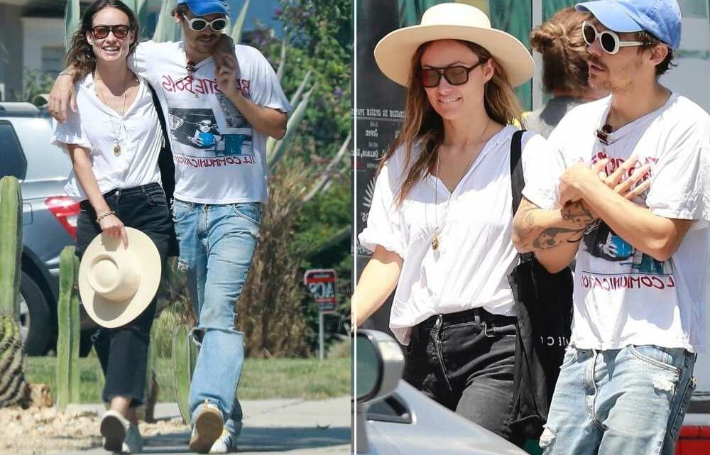 Harry Styles and Olivia Wilde embrace in LA after PDA-filled vacation