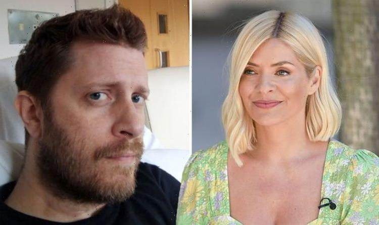 Holly Willoughby throws support behind Delays singer after he's taken off cancer treatment