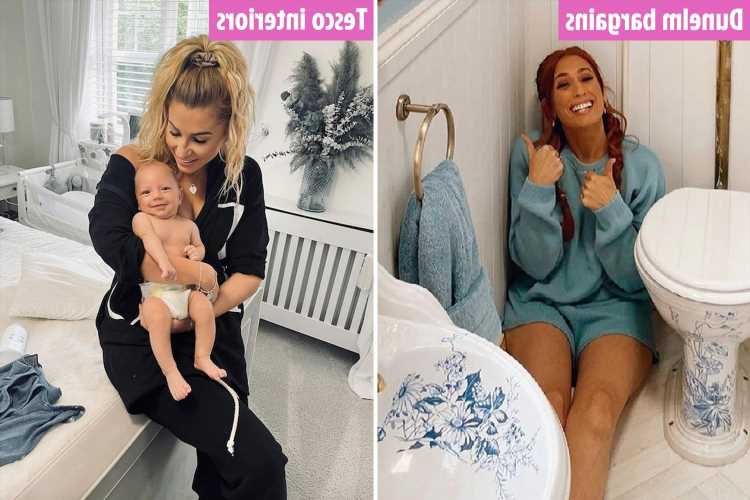 How to fake a celeb home on a budget – with Stacey Solomon's £30 mirror & save thousands with Rochelle Humes Wendy house