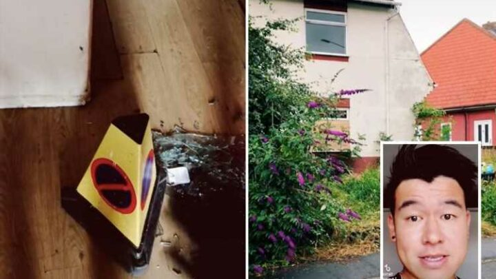 I splurged my savings on a £52k house – people think it's haunted, there's dead butterflies everywhere & a police cone