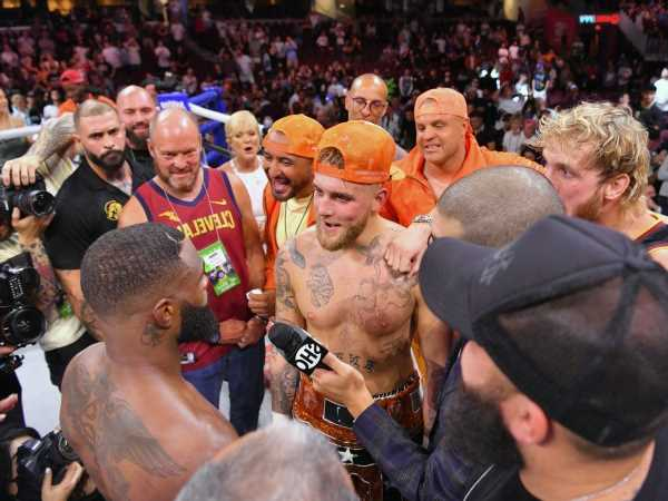 Jake Paul confirms tattoo bet with Tyron Woodley to secure rematch