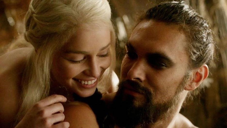 Jason Momoa Proves He Can Still 'Bench Press a Khaleesi' in Reunion With Emilia Clarke