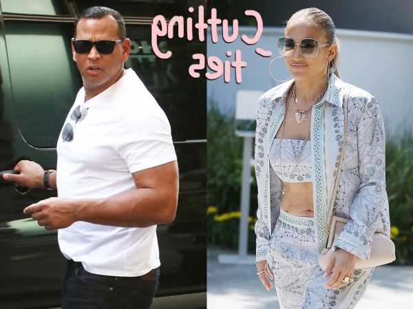 Jennifer Lopez Is 'Washing Her Hands' Of Alex Rodriguez & Their Joint Businesses