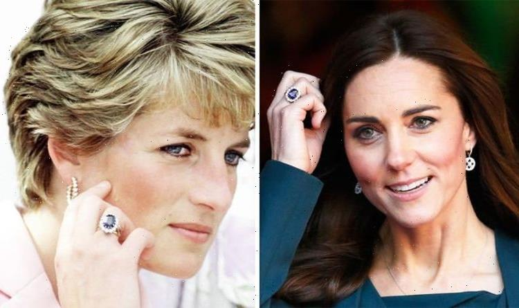 Kate Middleton altered 'iconic' £390,000 Diana's ring for 'sense of closeness'