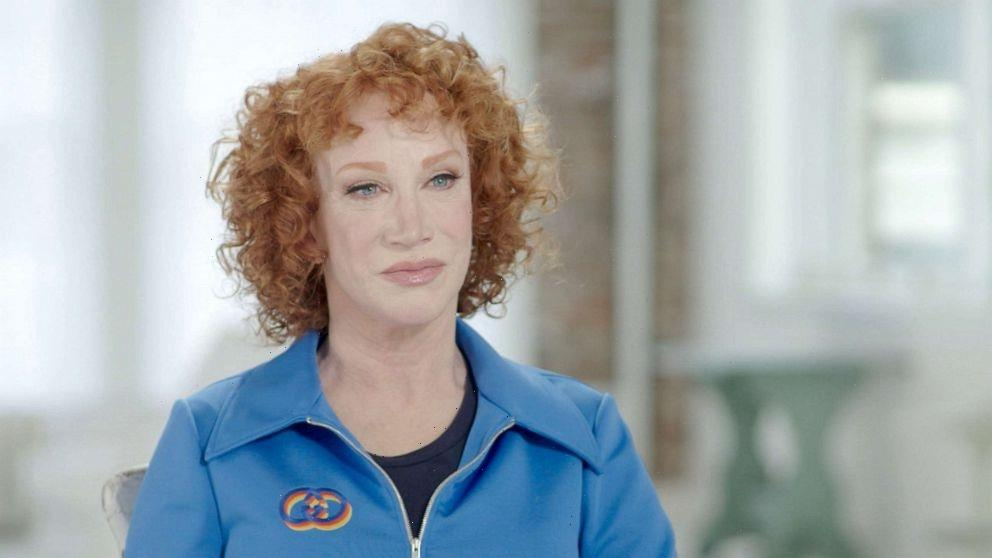 Kathy Griffin says she's a recovering addict who now hopes to beat lung cancer, too